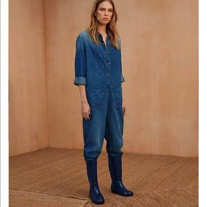 UGG Shaye Glossy Rain Boots in Blue Jay